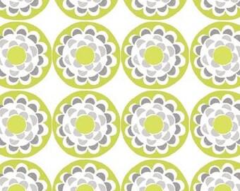 Ty Pennington Blossom Chartruese Fabric, 1 yard