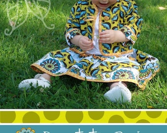 Lila Tueller Day at the Park Jacket, Pants, Skirt and Cap Sewing Pattern, FREE SHIPPING