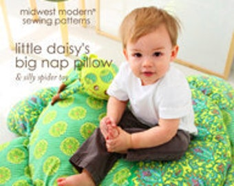Amy Butler Little Daisy's Bag Nap Pillow Sewing Pattern, FREE SHIPPING