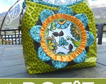 Lila Tueller The Posie Bag Sewing Pattern, FREE SHIPPING