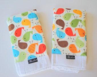 Urban Zoology Tweety Bird Baby Burp Cloth Set (2)