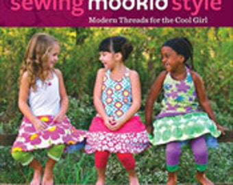 Patty Young Sewing ModKid Style Book & Patterns, Signed Copy