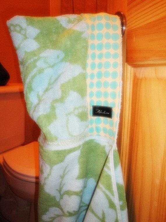 Amy Butler Ocean Hooded Baby/Child Bath Beach Pool Towel