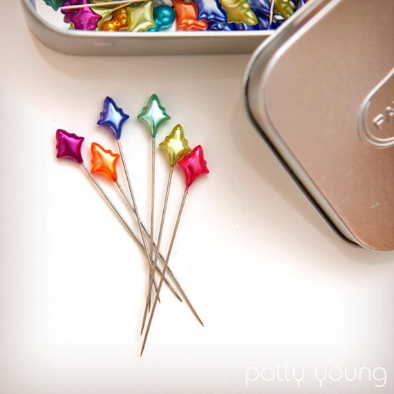 Splendid Spears Designer Sewing Pins by Patti Young