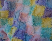 raggy flannel quilt -REDUCED