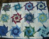 Spinning lapquilt - reduced