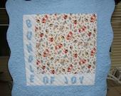 Bundle of Joy quilt- CLEARANCE