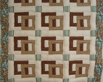 Town Square lapquilt  - CLEARANCE