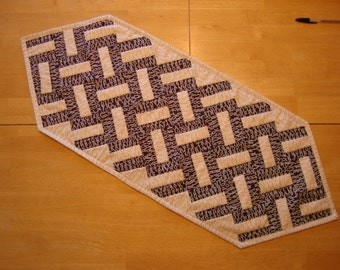 Word Play table runner - CLEARANCE