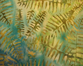 TT Tonga Batik yardage - REDUCED - last piece