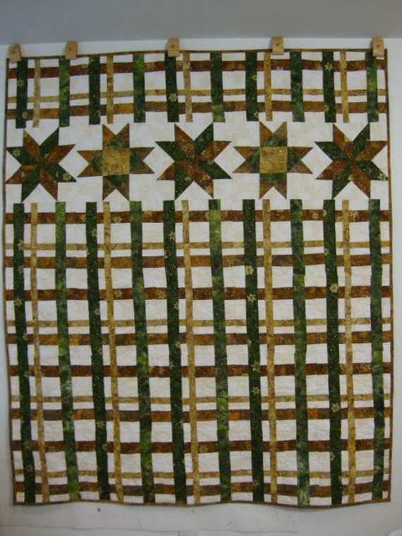 Salute to Plaid Quilt - REDUCED 0 50% OFF
