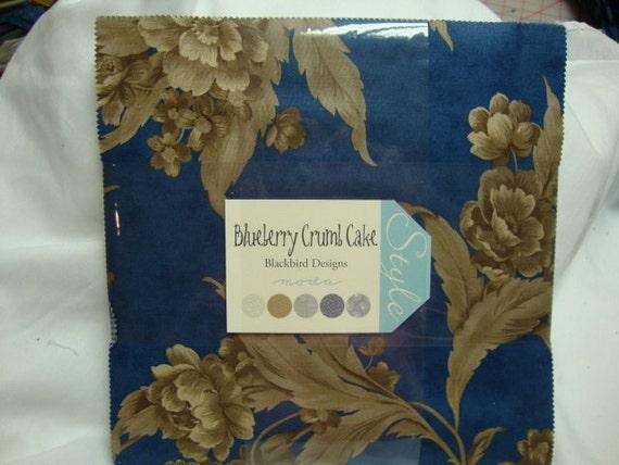 Blueberry Crumb Cake layer cake