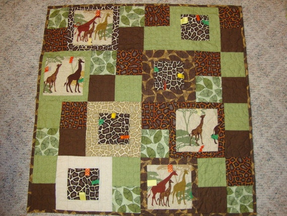 Playing Tag quilt - REDUCED