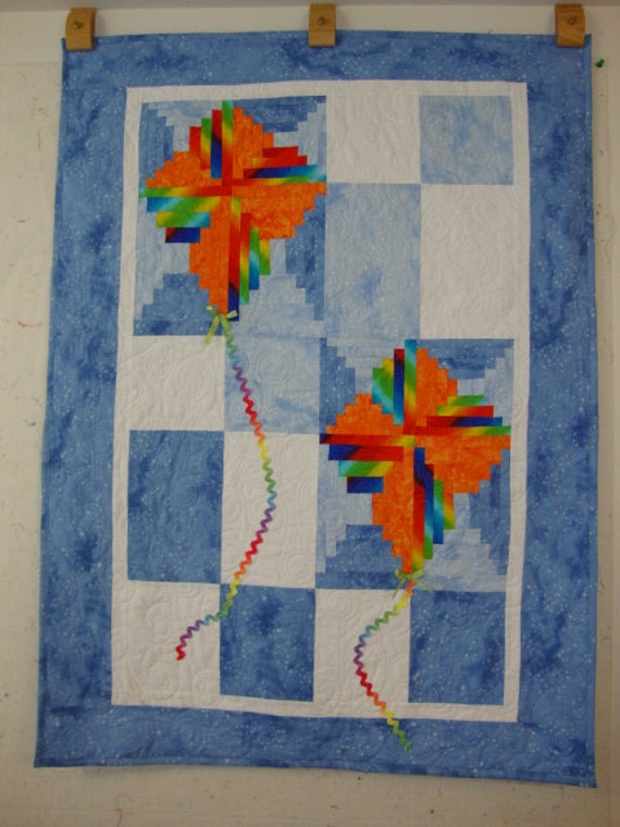 Blissful in the Clouds quilt - REDUCED