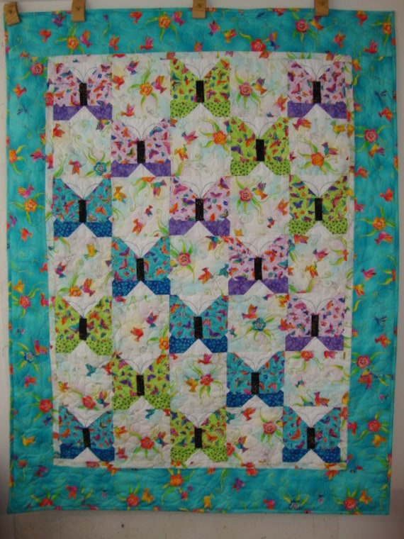 Flying Colors quilt - 1/2 price -FLAW