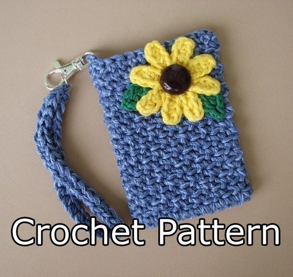 Crocheting Gadgets : PDF Crochet Pattern Gadget Bag by KikisCrochet on Etsy
