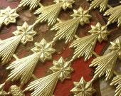 Special... Gold Dresden Shooting Stars (42 stars)