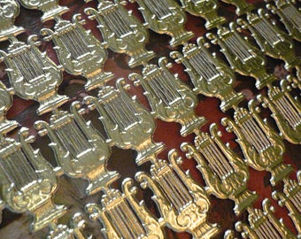 Special... Gold Dresden Lyres  (114 lyres)