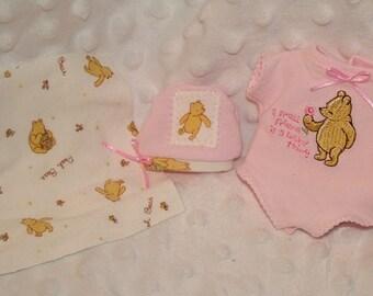 12 Inch Preemie Reborn doll E-Pattern to sew ooak Onesie Hat Booties Instant Download