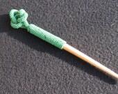 Hand beaded hair stick