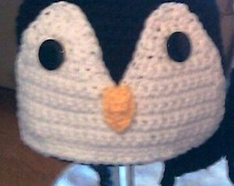 Crocheted Little Penguin Hat
