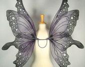 Ariel Fairy Wings in Purple and Black