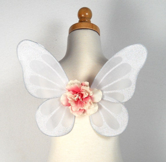 MADE TO ORDER - Fairy wings for infant or toddler - Great for fairy costume, Halloween costume - You choose the colors - Willow design