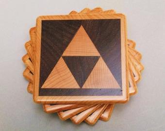 Triforce Coasters
