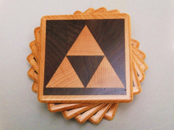 Triforce Coasters