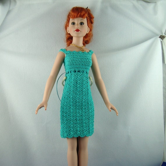 Crochet Dress Up Doll Pattern : 18 inch fashion doll crocheted dress
