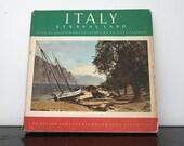 "BELLA ITALIA: Beautiful Photographs in ""Italy Eternal Land"" 1950s Tour Book"