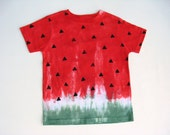 Watermelon T-Shirt, Baby and Toddler, Tie Dyed, Tee or Top, Size 5/6