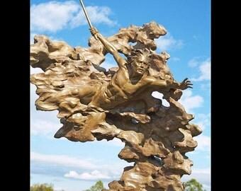 Eclipse Bronze Sculpture