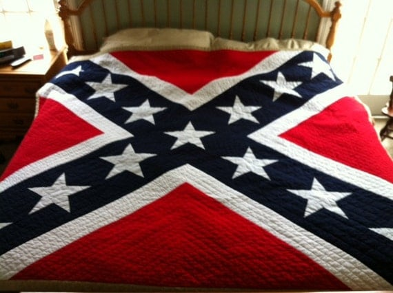 Pattern For Confederate Flag King Quilt By Lindabartlett