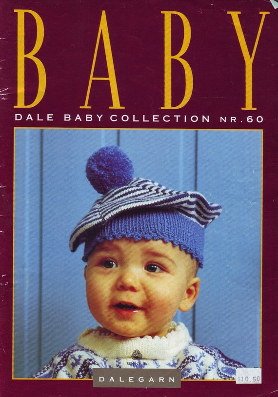 dale of norway baby collection knitting pattern book no. 60