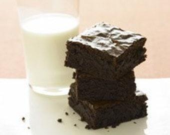 Bailey's Irish Cream Chocolate Brownies