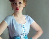 The Sweetie Gets the Blues Pocket Dress