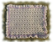 Crochet Pattern for Doll Blanket