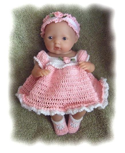 Crochet Pattern For 7 5 Inch Lanewborn Berenguer Spring