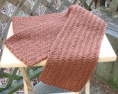 Brown Eco-Wool Scarf