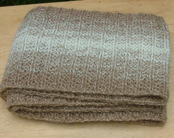 Shaded Striped Scarf Pattern