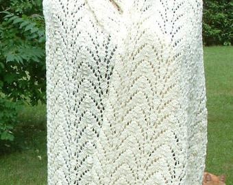 Cathedral Arches Prayer Shawl Pattern