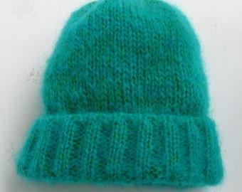 Child's Wool-Mohair Watch Cap