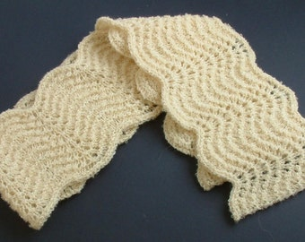 Teen/Petite Frothy Scalloped Scarf