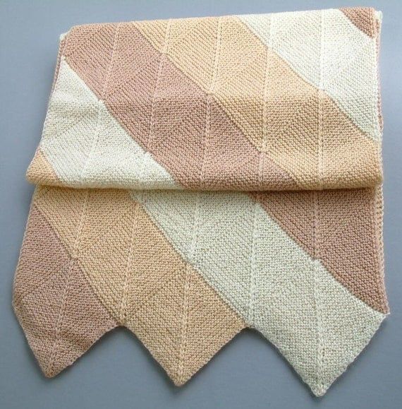 Coffee 'n' Cream Wool Wrap