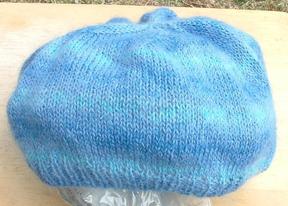 RESERVED for rosemarywilson -- Northern Lights Beret
