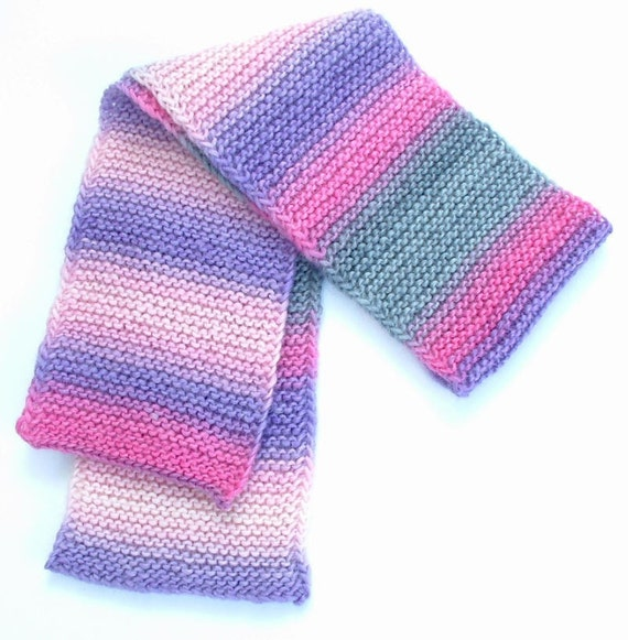 Child's Scarf in Multicolored Wool