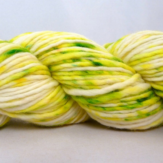Hand Dyed Worsted Merino Single Yarn- Mojito