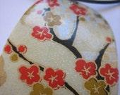 Orange\/Gold Chiyogami Necklace