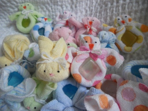Boo Boo Bunny and Boo Boo Chicky, Set of 2.